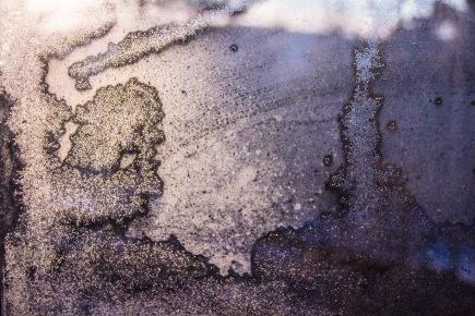 Frost som ligner en gråtende engel. Foto Kari-Anne Flor